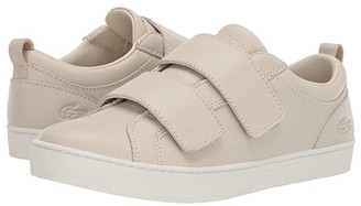 Lacoste Straightset Strap 319 2 (Off-White/Off-White) Women's Shoes