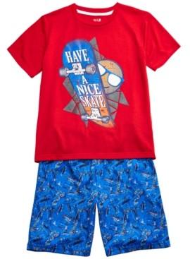 Max & Olivia Big Boys 2-Pc. Have a Nice Skate Pajamas Set