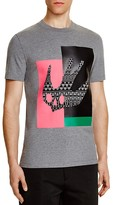 McQ by Alexander McQueen Swallow Graphic Slim Fit Tee