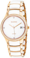 Roberto Bianci Womens Two Tone Bracelet Watch-Rb2952