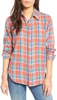 Mother Women's The Frenchie Plaid Shirt