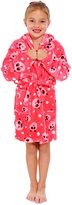 AshopZ Kid's Animal Pattern Bathrobe in Warm Lightweight Polyester, Red L