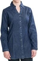 Woolrich Salt Springs Tunic Shirt - Stretch Denim, Long Sleeve (For Women)