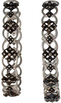 Armenta Diamond New World Maltese Hoop Earrings