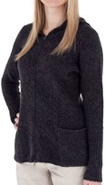 Royal Robbins Napa Boucle Hoodie Sweater - Zip Front (For Women)