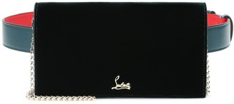 Christian Louboutin Boudoir Chain velvet belt bag