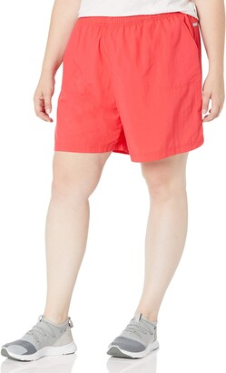 Columbia Women's Plus Size Sandy River Short Grey/Mineshaft 1X x 6
