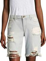 Joe's Jeans Finn Distressed Denim Bermuda Shorts