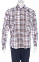 Eton Plaid Long Sleeve Shirt w/ Tags