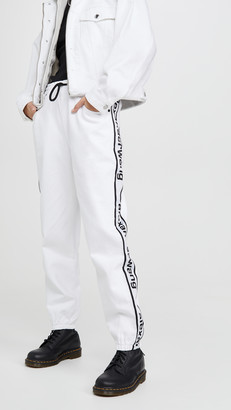 Alexander Wang Denim Track Pants