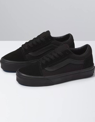Vans Old Skool Kids Black Shoes