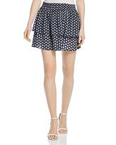 Scotch & Soda Double Layer Mini Skirt