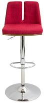 Lumisource Varzi Adjustable Barstool with Swivel