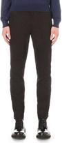 Lanvin Herringbone slim-fit cotton trousers