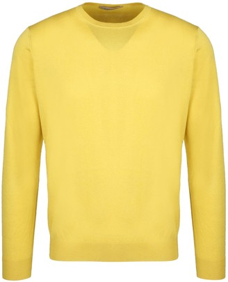 Laneus Silk Crew Neck Sweater