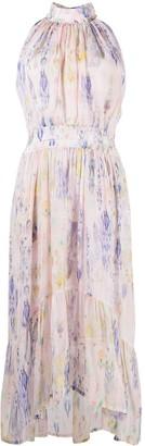 IRO Floral-Print Sleeveless Maxi Dress