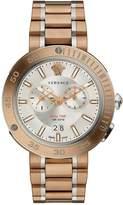 Versace V-Extreme Pro Bronze Stainless Steel Bracelet Mens Watch