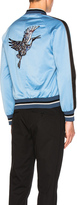 Lanvin Embroidered Patches Baseball Jacket