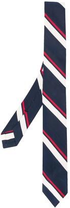 Thom Browne RWB stripe classic tie