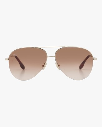Victoria Beckham Monogram Classic Victoria Sunglasses