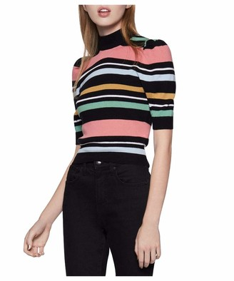 BCBGeneration Women's Stripe Pullover Sweater