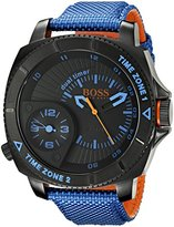 HUGO BOSS BOSS Orange Men's 1513209 Sao Paulo Analog Display Quartz Blue Watch