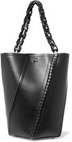 Proenza Schouler Hex Paneled Leather Tote - Black