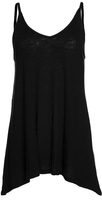 Pure Style Girlfriends Black Double-V Camisole