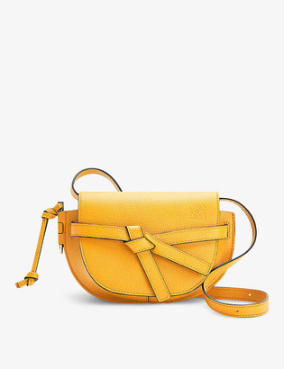 Loewe Gate Dual mini leather cross-body bag