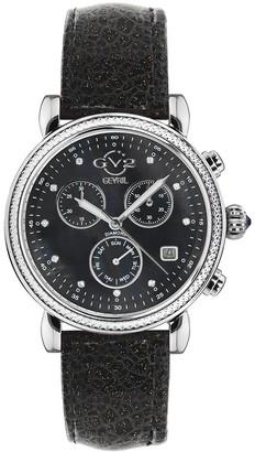 Gv2 Women's Marsala Sparkle Watch