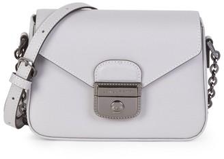 Longchamp Heritage Pebbled Leather Camera Bag