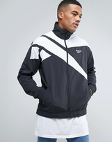 Reebok Vector Track Jacket In Black BK5095