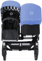 Bugaboo Donkey Twin & Tailored Fabric Set - Sand/Jewel Blue (Special Edition)