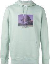 Edwin photo print hoodie - men - Cotton - L