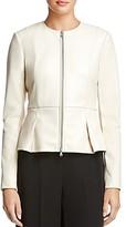 Bailey 44 Avery Peplum-Hem Faux-Leather Jacket