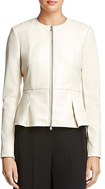 Bailey 44 Avery Peplum Hem Faux-Leather Jacket