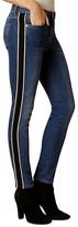 Karen Millen Side-Stripe Skinny Jeans in Denim
