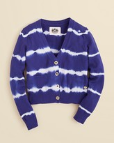 Juicy Couture Girls' Mini Taj Tie Dye Cardigan - Sizes 2-5