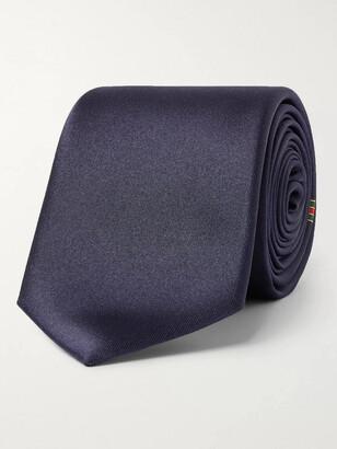 Gucci 7cm Logo-Jacquard Silk Tie