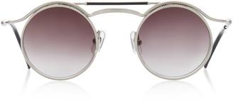 Matsuda Eyewear Double Round-Frame Metal Sunglasses