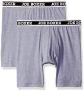 Joe Boxer Men's Cycle Short 2 Pack Boxer