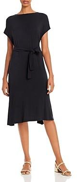 Majestic Filatures Knit V-Back Dress