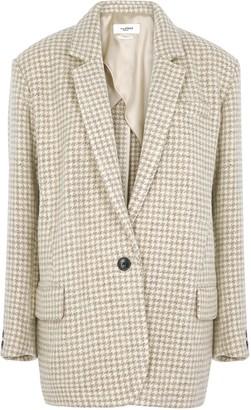 Etoile Isabel Marant Kaito houndstooth wool blazer