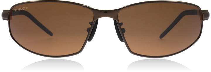 Serengeti Granada Sunglasses Espresso 7300 Polariserade 65mm