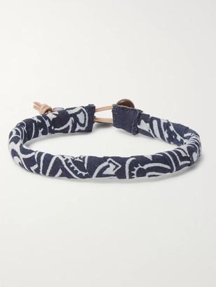 Mikia Bandana-Print Cotton Bracelet