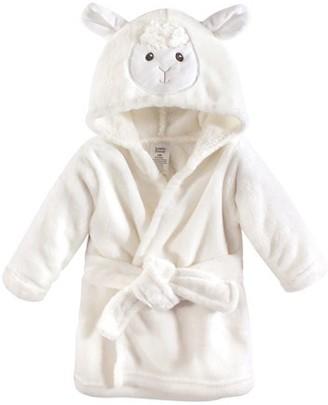 Luvable Friends Fleece bathrobe (baby boys or baby girls unisex)