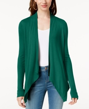 INC International Concepts Inc Draped Cardigan, Created for Macy's