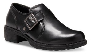 Eastland Shoe Eastland Women's Open Road Block Heel Loafers Women's Shoes