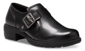 Eastland Women's Open Road Block Heel Loafers Women's Shoes