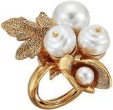 Oscar de la Renta Baroque Pearl Ring Ring